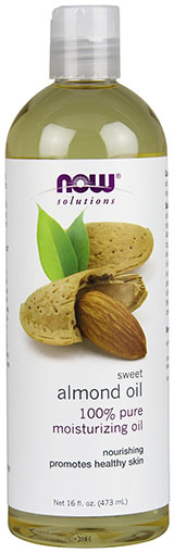 2. Now Solutions Sweet Almond Oil