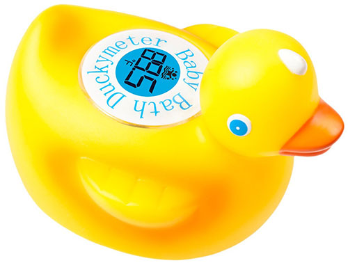 10. Duckymeter, the Baby Bath Floating Duck Toy and Bath Tub Thermometer
