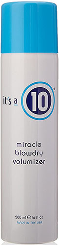 4. It's a 10 Miracle Blow Dry Volumizer