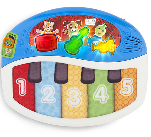 3. Baby Einstein Discover and Play Piano