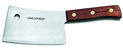 1. Dexter-Russell Cleaver, 7-Inch, Traditional Series