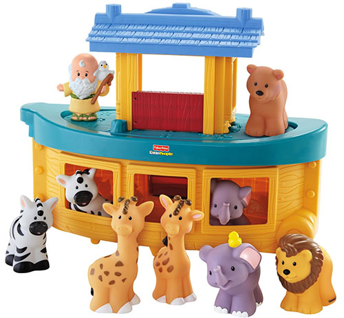 5. Fisher-Price Little Noah's Ark