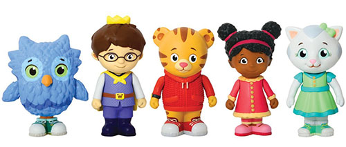 1. Daniel Tiger's Neighborhood Friends Figures Set