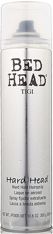 9. Tigi Bed Head Hard Head Spray