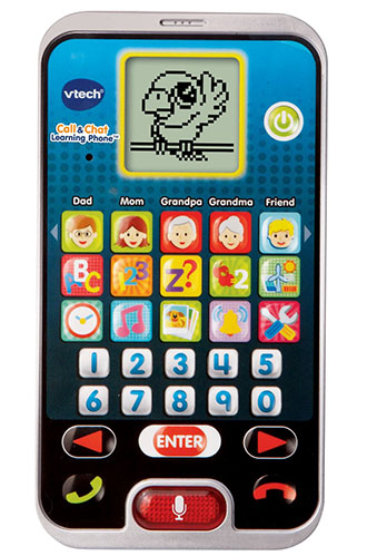 8. VTech Call & Chat Learning Phone