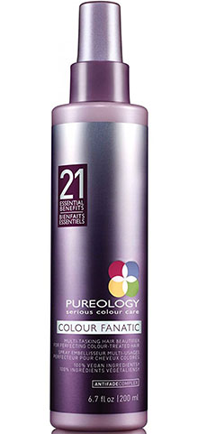 3. Pureology Colour Fanatic Hair Treatment Spray with 21 Benefits