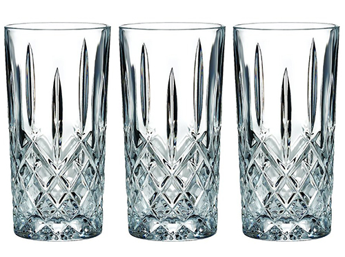 1. Marquis by Waterford Markham Hiball Collins Glasses