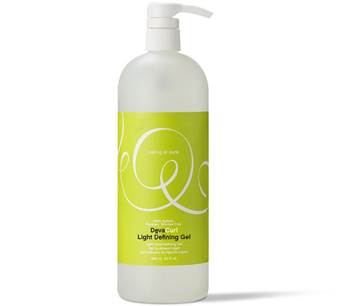 7. Deva Curl Light Defining Gel,32 oz
