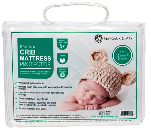3. Mattress Protector Pad for Your Crib
