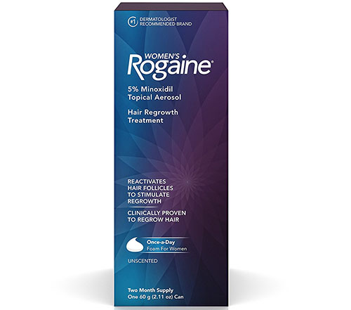 9. Women's Rogaine Once-A Day Foam, Two Month Supply