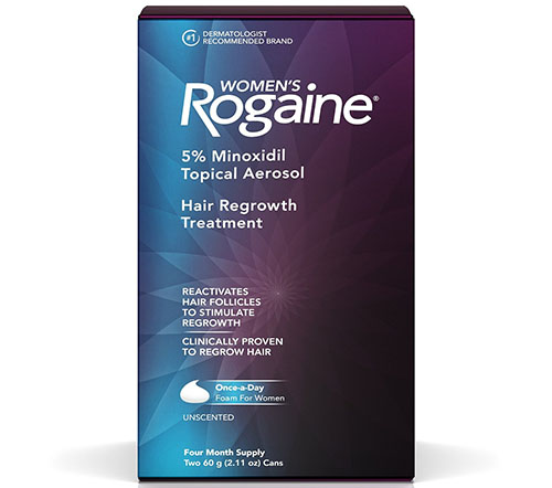 5. Women's Rogaine Once-A-Day Foam, Four Month Supply