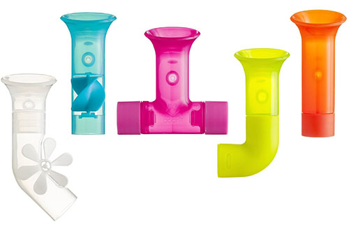 1. Boon Pipes Water Pipes Bath Toy