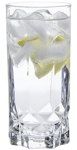 3. Glacier Highball Water/Beverage Glasses