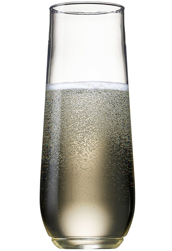 1. TOSSWARE 9oz Shatterproof Champagne