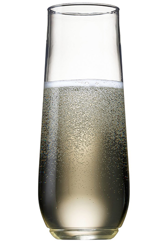 4. TOSSWARE 9oz Shatterproof Champagne
