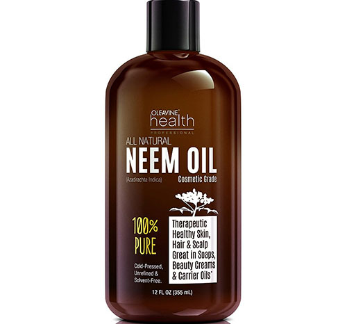 9. Oleavine All Natural Neem Oil