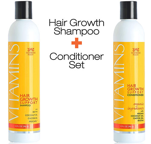 4. Vitamin hair loss shampoo plus conditioner