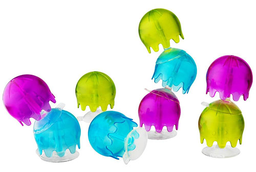 8. Boon Jellies Suction Cup Bath Toys