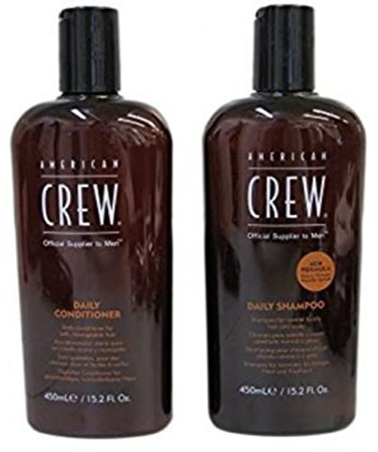 8. American crew daily shampoo plus conditioner