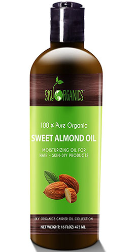8. Sweet Almond Oil by Sky Organics
