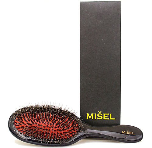 7. Misel professional extension and detangling hair brush
