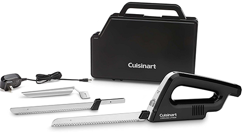 8. Cuisinart CEK-120 Cordless Electric Knife