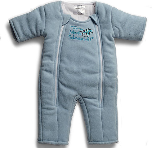3. Baby Merlin's Magic Sleepsuit Microfleece
