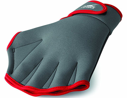 1. Speedo Aqua Fit Swim Training Gloves