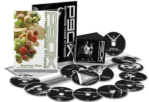 9. P90X DVD Workout - Base Kit