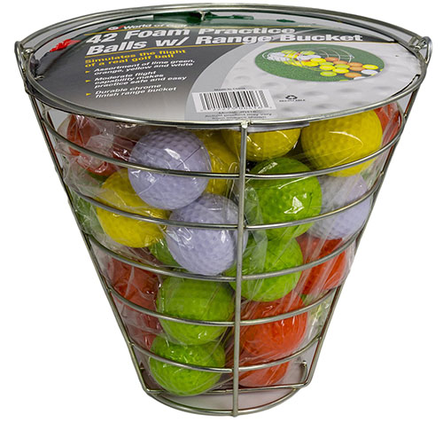 3. Shag assorted brands and models golf practice balls (96 ball packs)