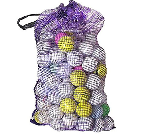 1. Multi-color foam, golf ball sized indoor and outdoor golf practice balls