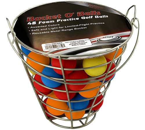 2. Jet world of golf practice balls (42 multi colored balls)