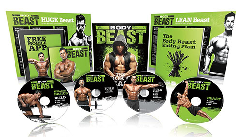 4. Body Beast DVD Workout - Base Kit