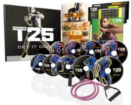 2. FOCUS T25 Shaun T's NEW Workout DVD Program