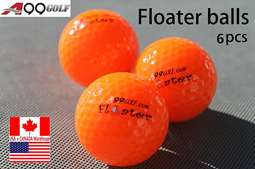 5. A99 Floating Golf Ball Floater Float Water Range 6pcs