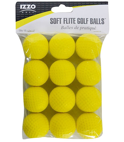 10. Izzo soft flite golf balls (12 count)