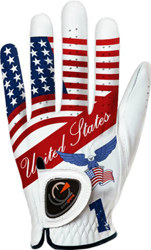 7. easyglove FLAG_USA-1 Men's Golf Glove