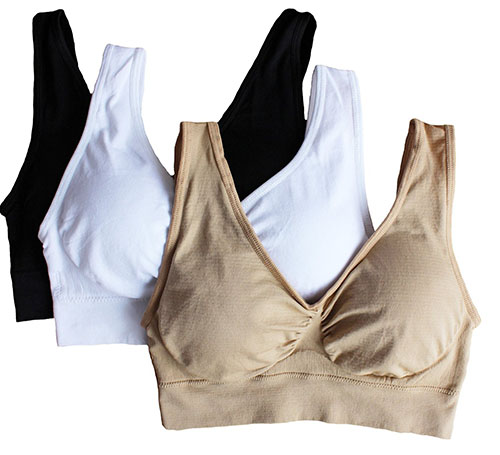 5. Seamless Wireless Sports Bra