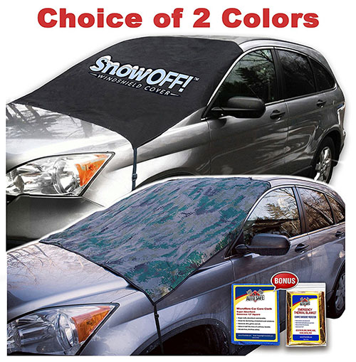 7. SnowOFF LARGE Windshield Snow Cover