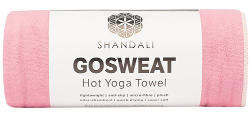 3. Shandali Gosweat Hot Yoga Towel