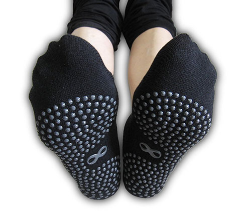 10. Non Slip Skid Socks with Grips