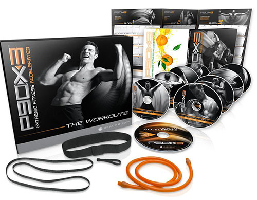 10. Tony Horton's P90X3 DVD Workout