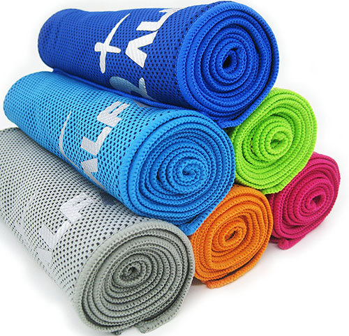 2. Alfamo Cooling Towels for Sports