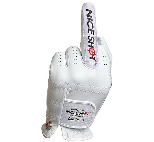 3. Nice Shot Golf Glove