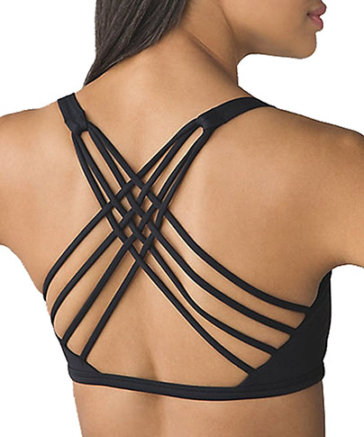 10. Wirefree Pad Yoga Sports Bra