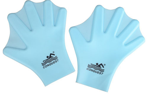 3. Flammi Unisex Adult/Kids Silicone Webbed Swim Gloves