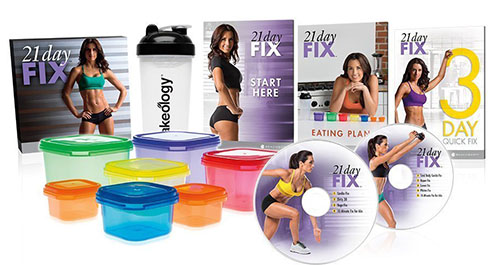 3. OFFICIAL Beachbody 21 Day Fix Base Kit Workout Program