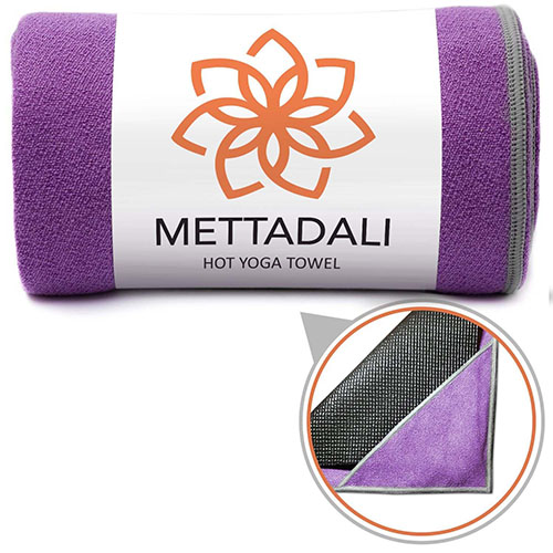 7. Mettadali Yoga Towel, NEW Anchor Fit Corners