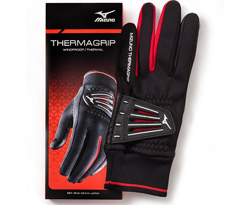 8. Mizuno ThermaGrip Golf Gloves