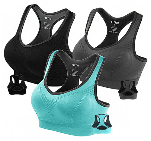 3. Bra Padded Seamless High Impact Support